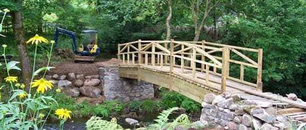 bridge installation cumbria